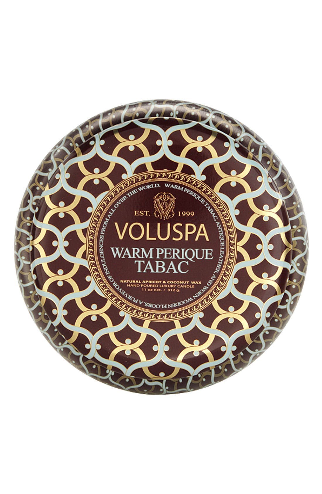 Main Image - Voluspa 'Maison Rouge - Warm Perique Tabac' 2-Wick Scented Candle