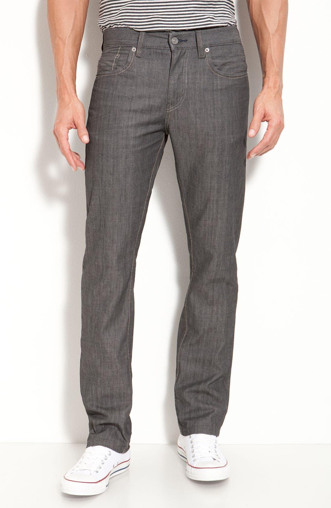 Alternate Image 2  - Levi's® '513™' Slim Fit Jeans (Moulded Slate)
