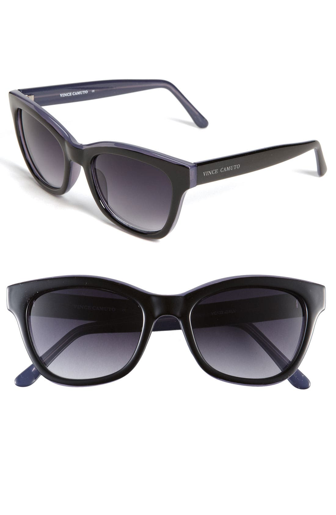 Main Image - Vince Camuto 50mm Retro Inspired Plastic Sunglasses