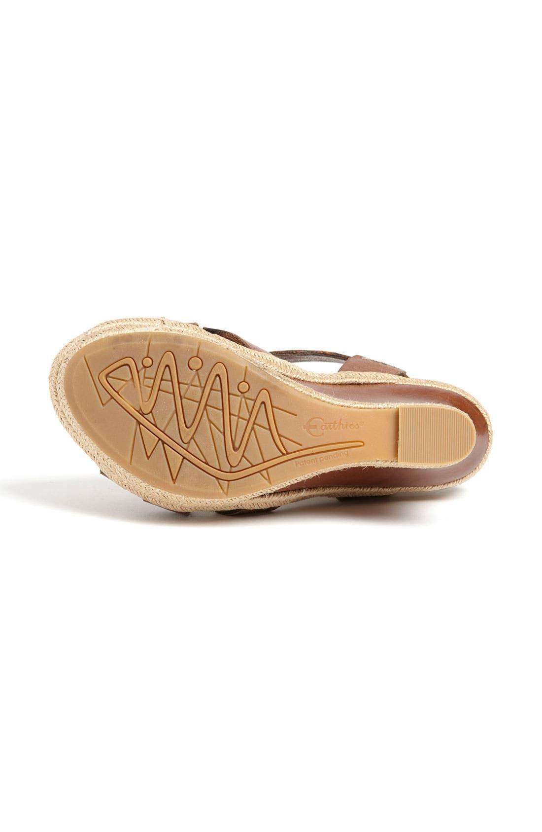 Alternate Image 4  - Earthies® 'Salerno' Wedge Sandal