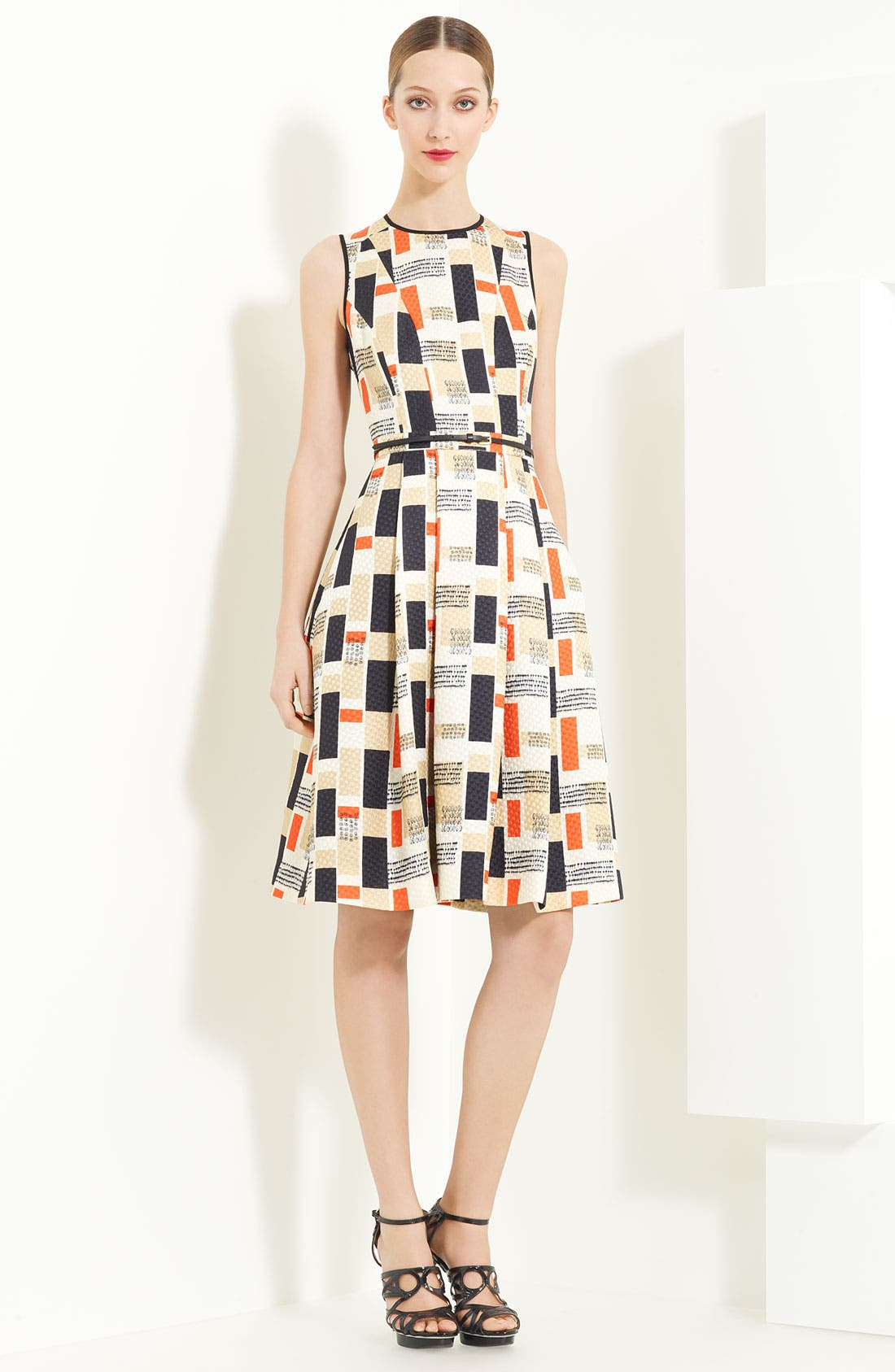 Alternate Image 1 Selected - Jason Wu Silk & Wool Jacquard Dress