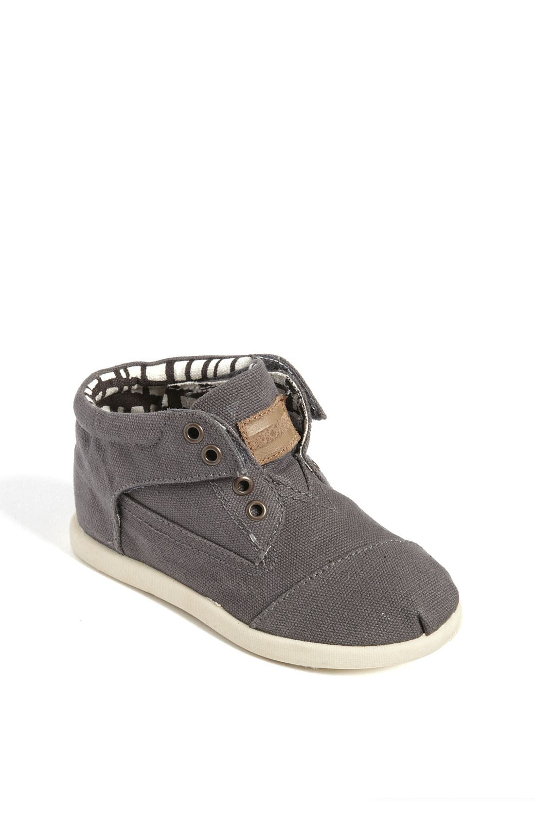 Alternate Image 1 Selected - TOMS 'Botas - Tiny' Canvas Boot (Baby, Walker & Toddler)