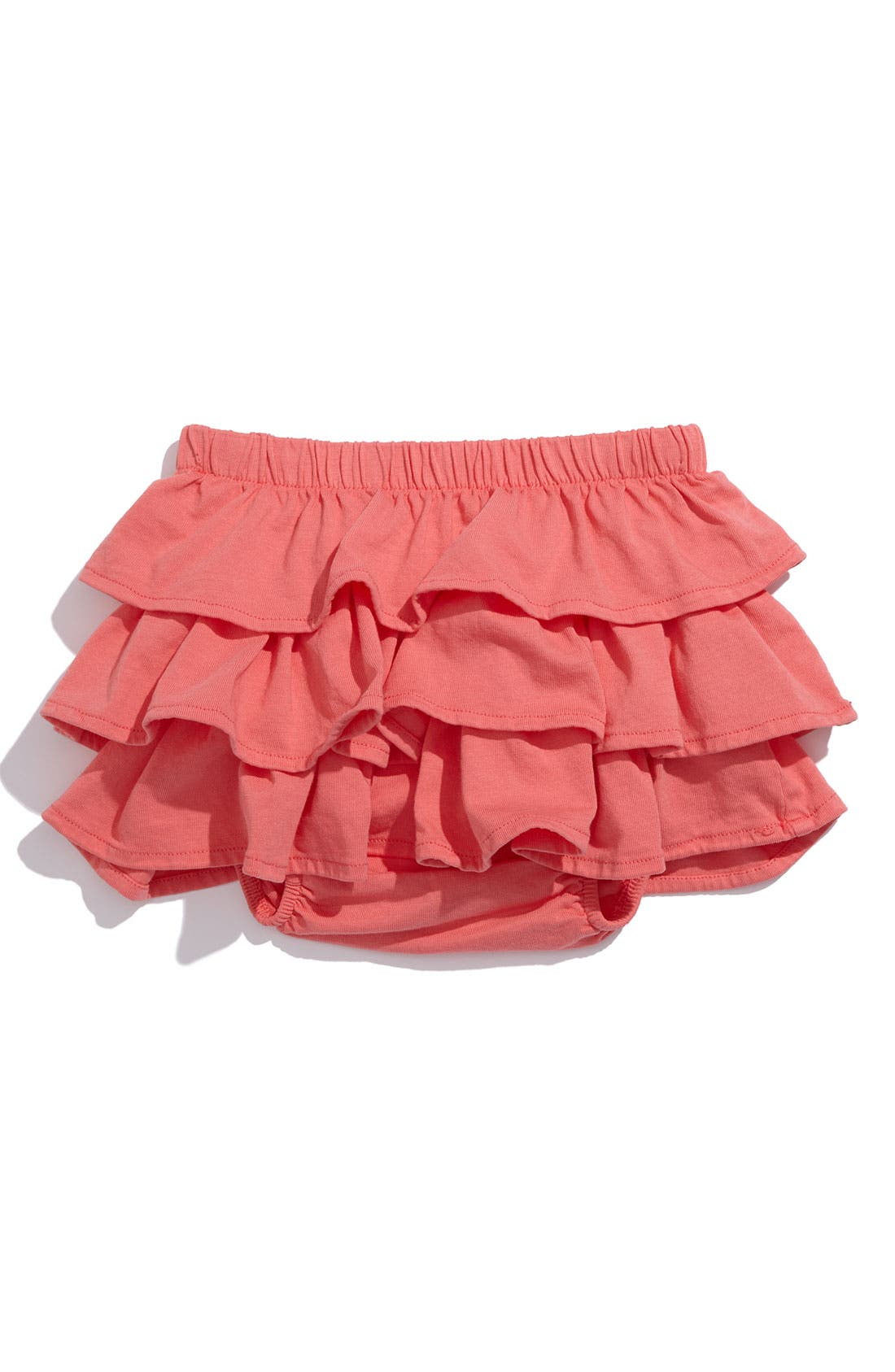 Main Image - Peek 'Evie' Ruffle Tier Skirted Bloomers (Infant)