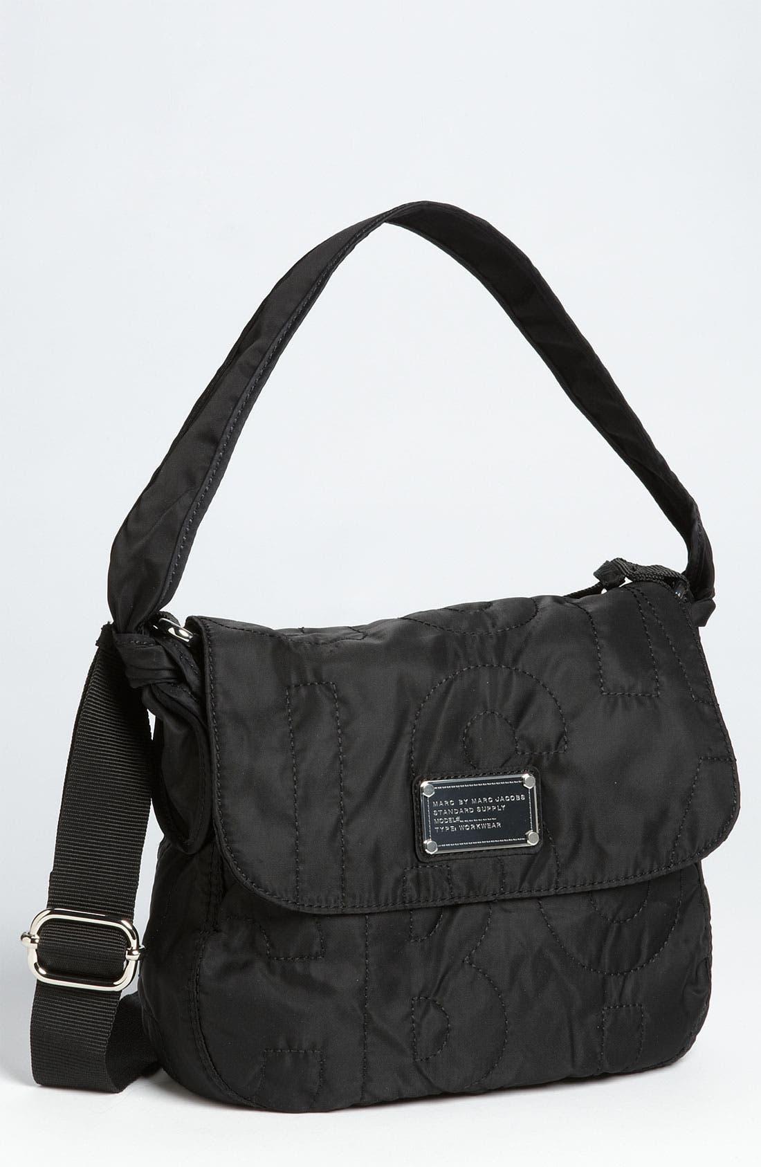 Alternate Image 1 Selected - MARC BY MARC JACOBS 'Pretty Nylon - Little Ukita' Convertible Crossbody Flap Bag