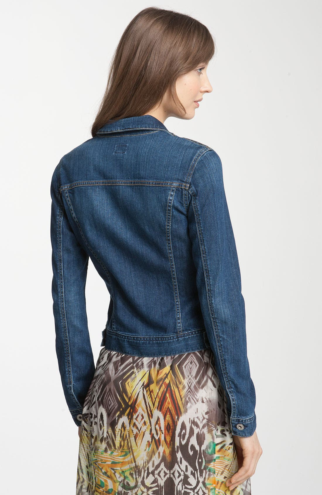 Alternate Image 2  - AG Jeans 'Robyn' Stretch Denim Jacket