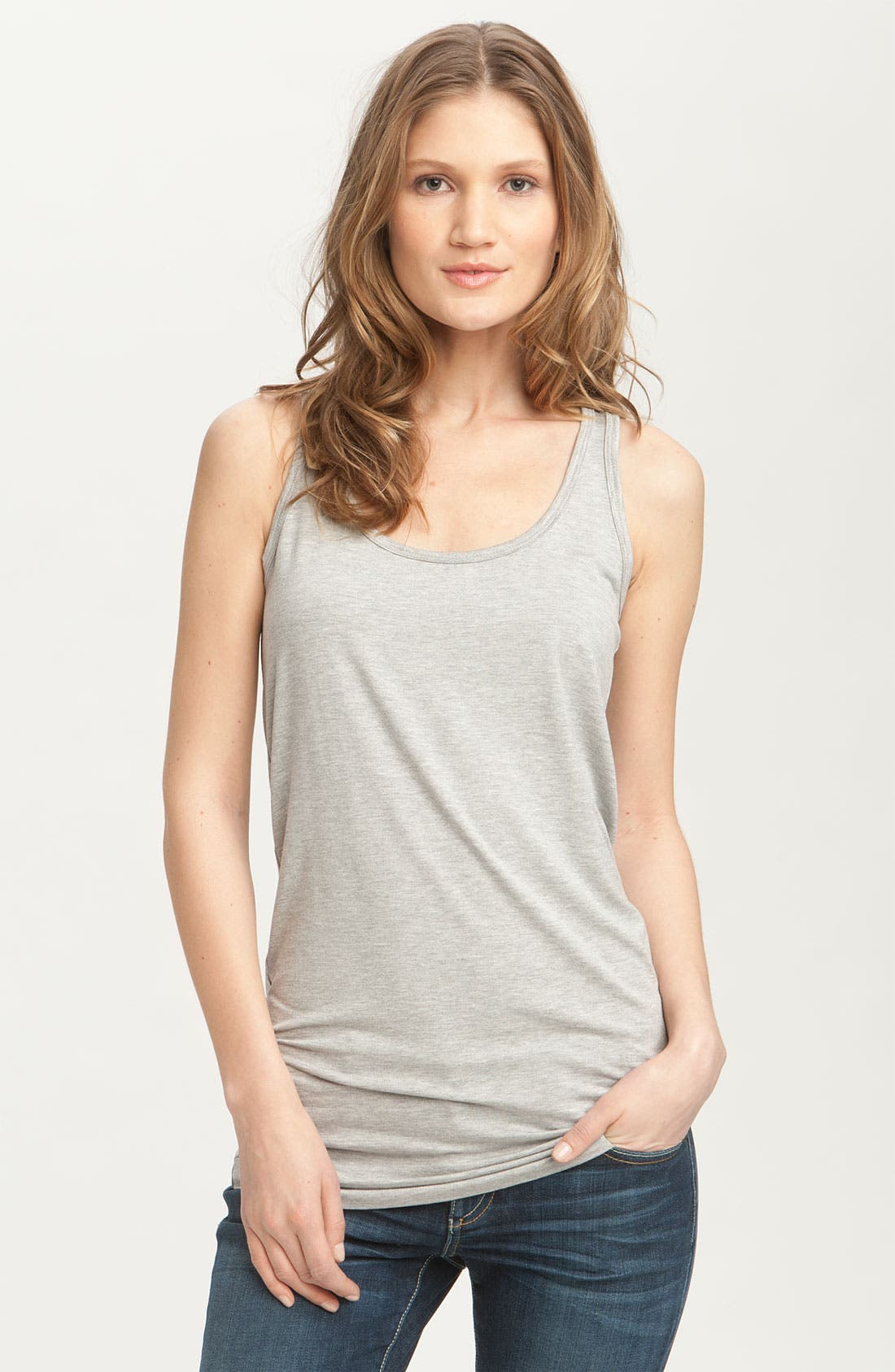 Alternate Image 1 Selected - Emily Blu Tunic Tank