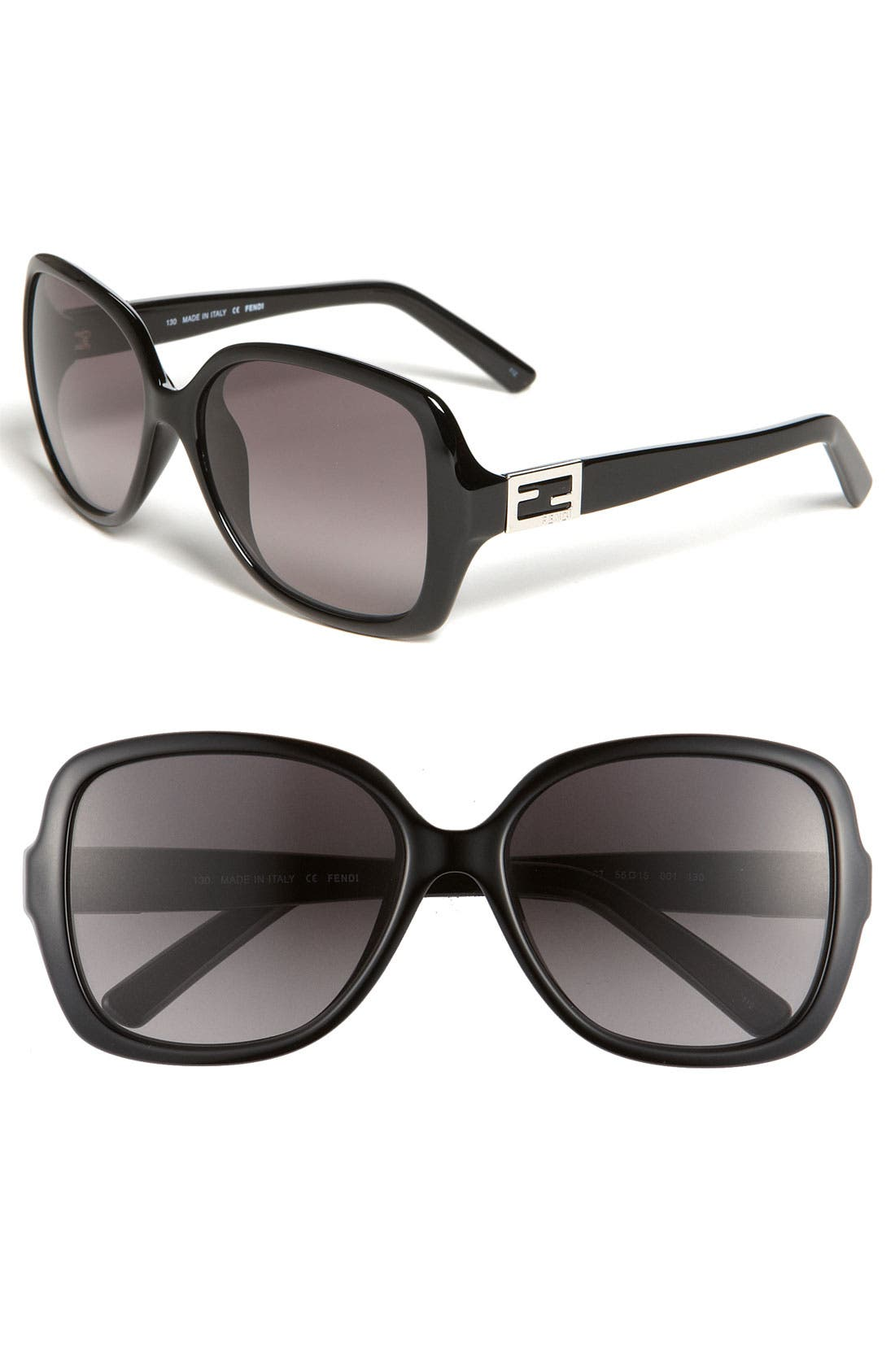 Alternate Image 1 Selected - Fendi 'Classic' 56mm Sunglasses