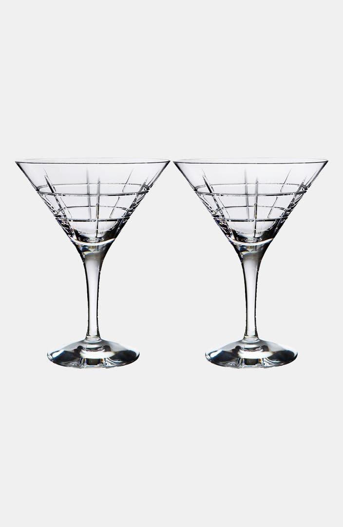 Orrefors 'Street' Martini Glasses (Set of 2) | Nordstrom