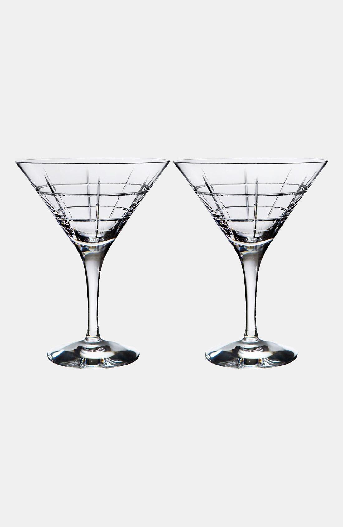 Orrefors 'Street' Martini Glasses (Set of 2)