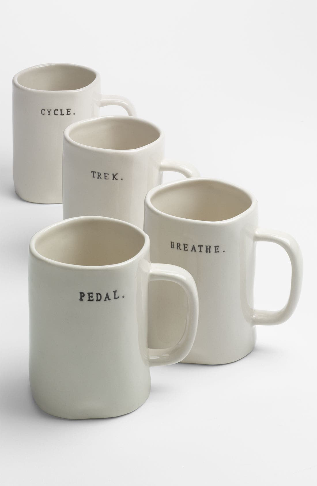 Alternate Image 2  - Rae Dunn by Magenta Bike Mugs (Set of 4)