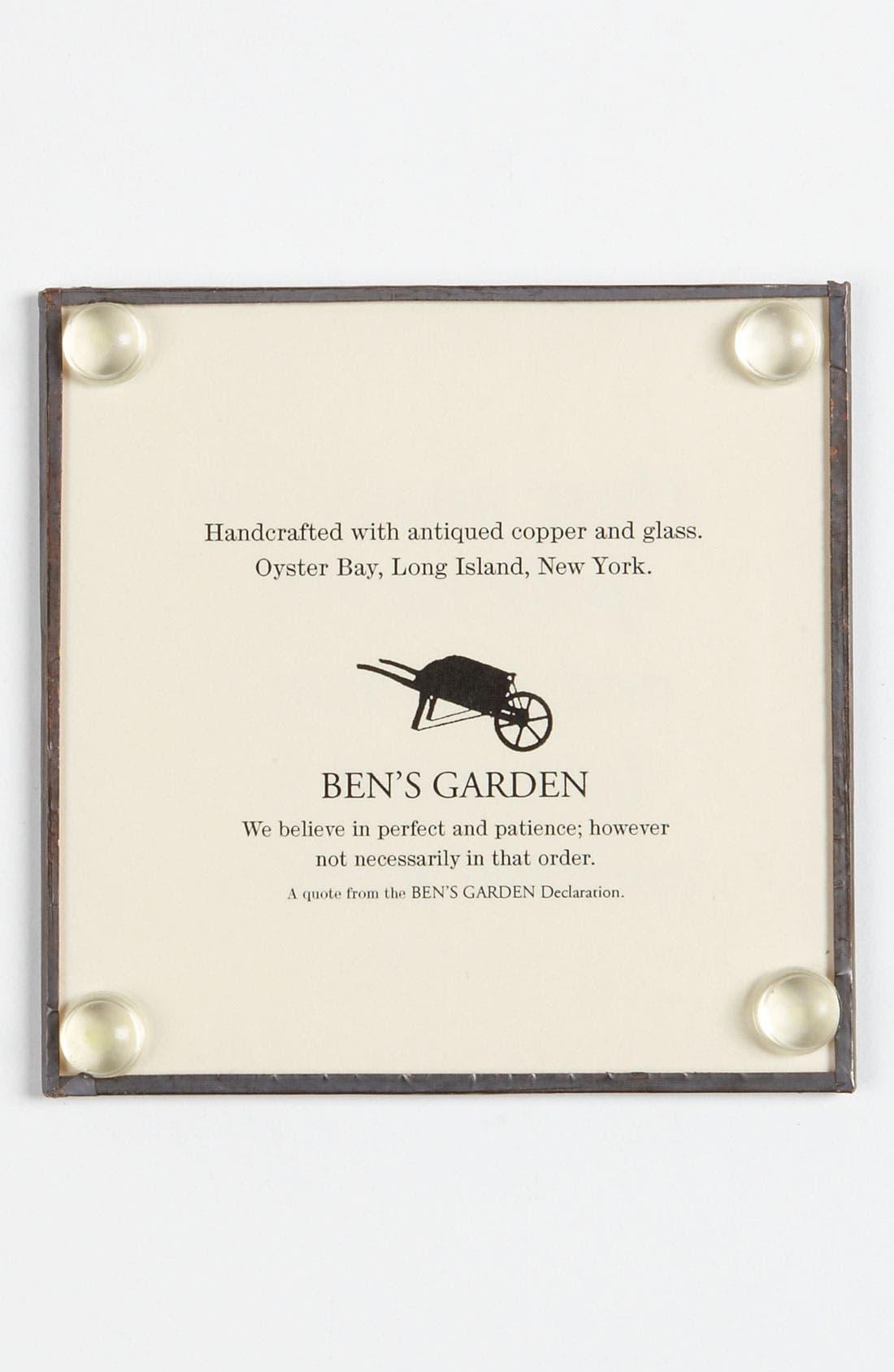 Alternate Image 2  - Ben's Garden 'My Only Regret' Coaster Set