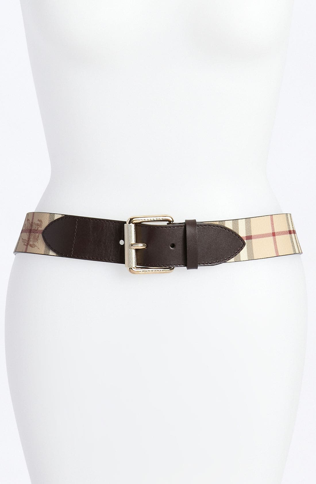 Alternate Image 1 Selected - Burberry Belt