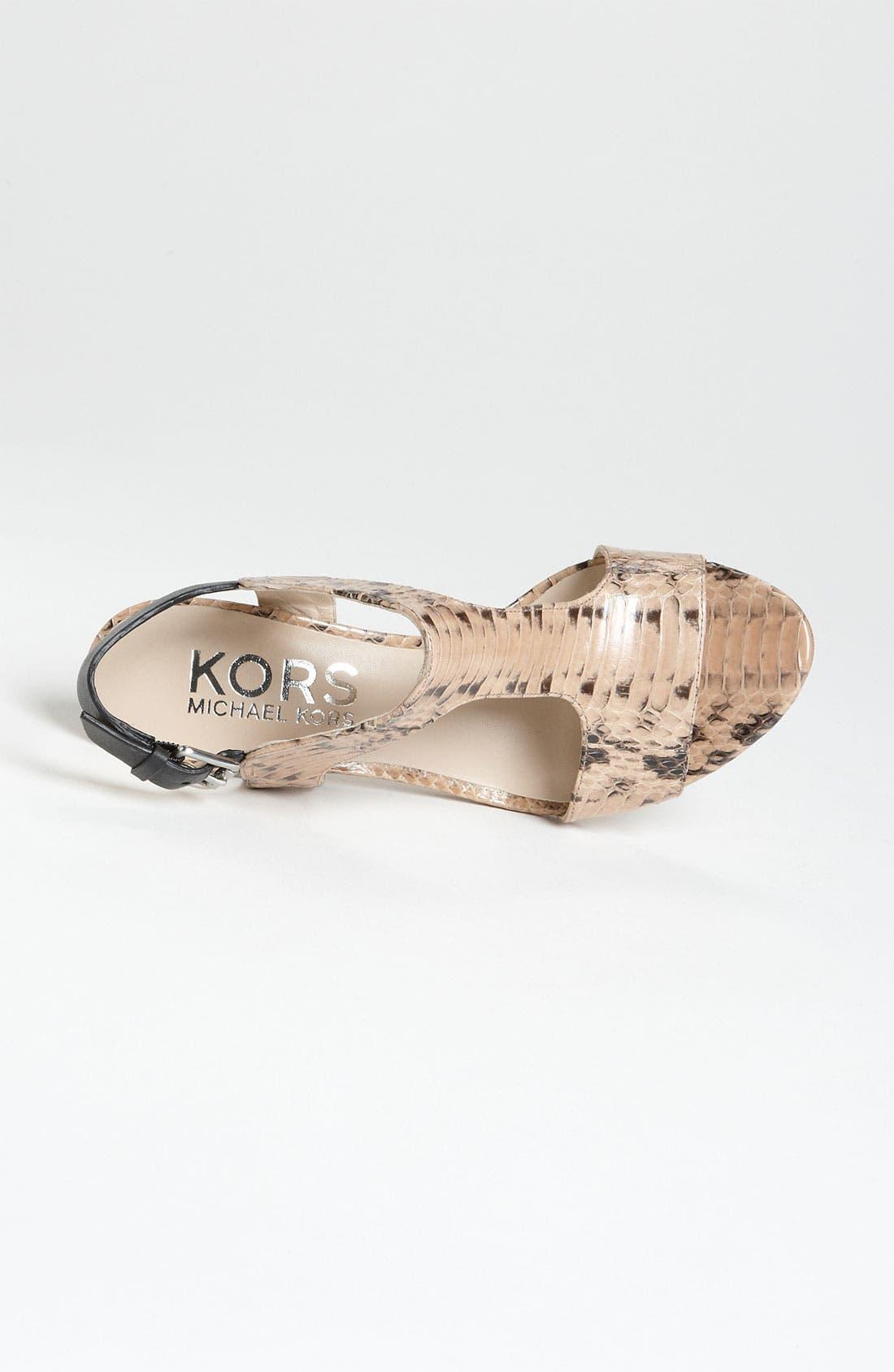 Alternate Image 3  - KORS Michael Kors 'Xyla' Sandal
