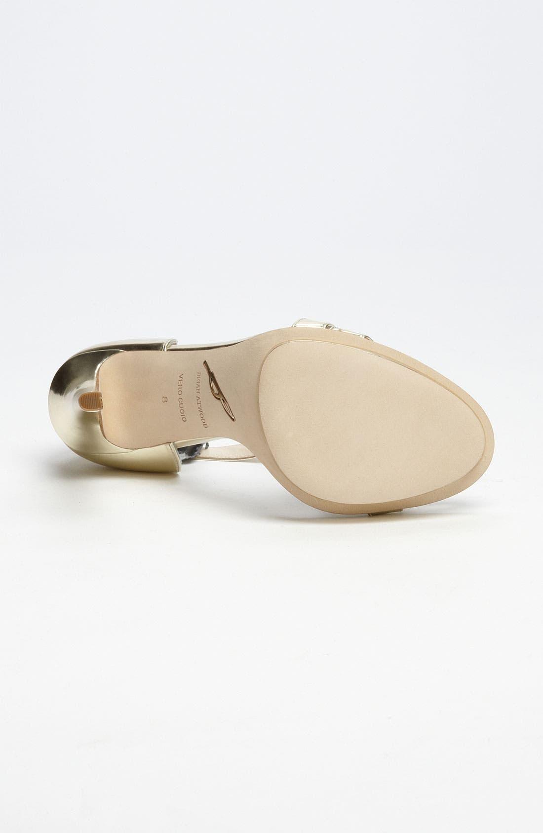 Alternate Image 4  - B Brian Atwood 'Consort' Sandal