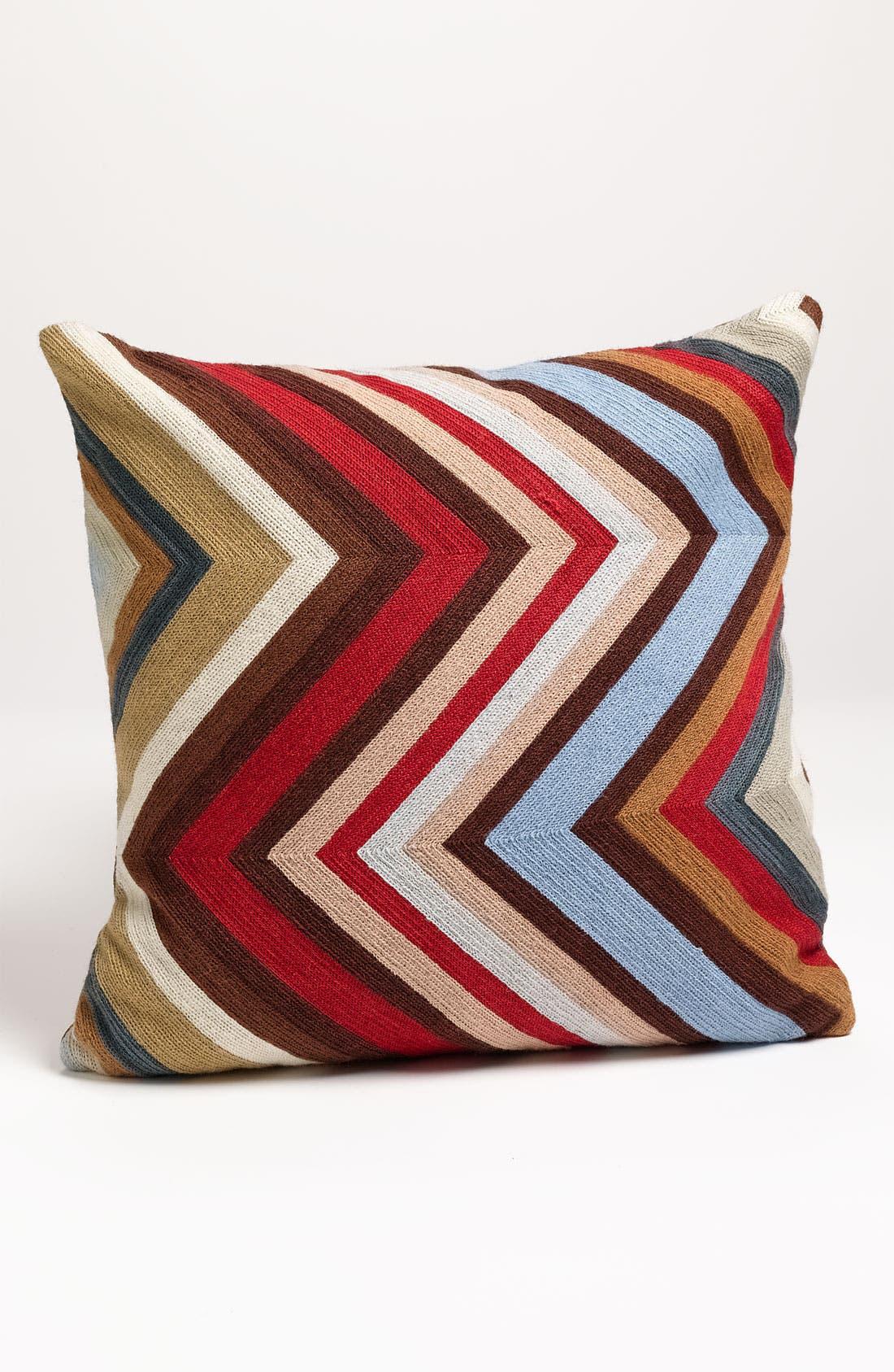 'Chevron' Pillow,                         Main,                         color, Multi