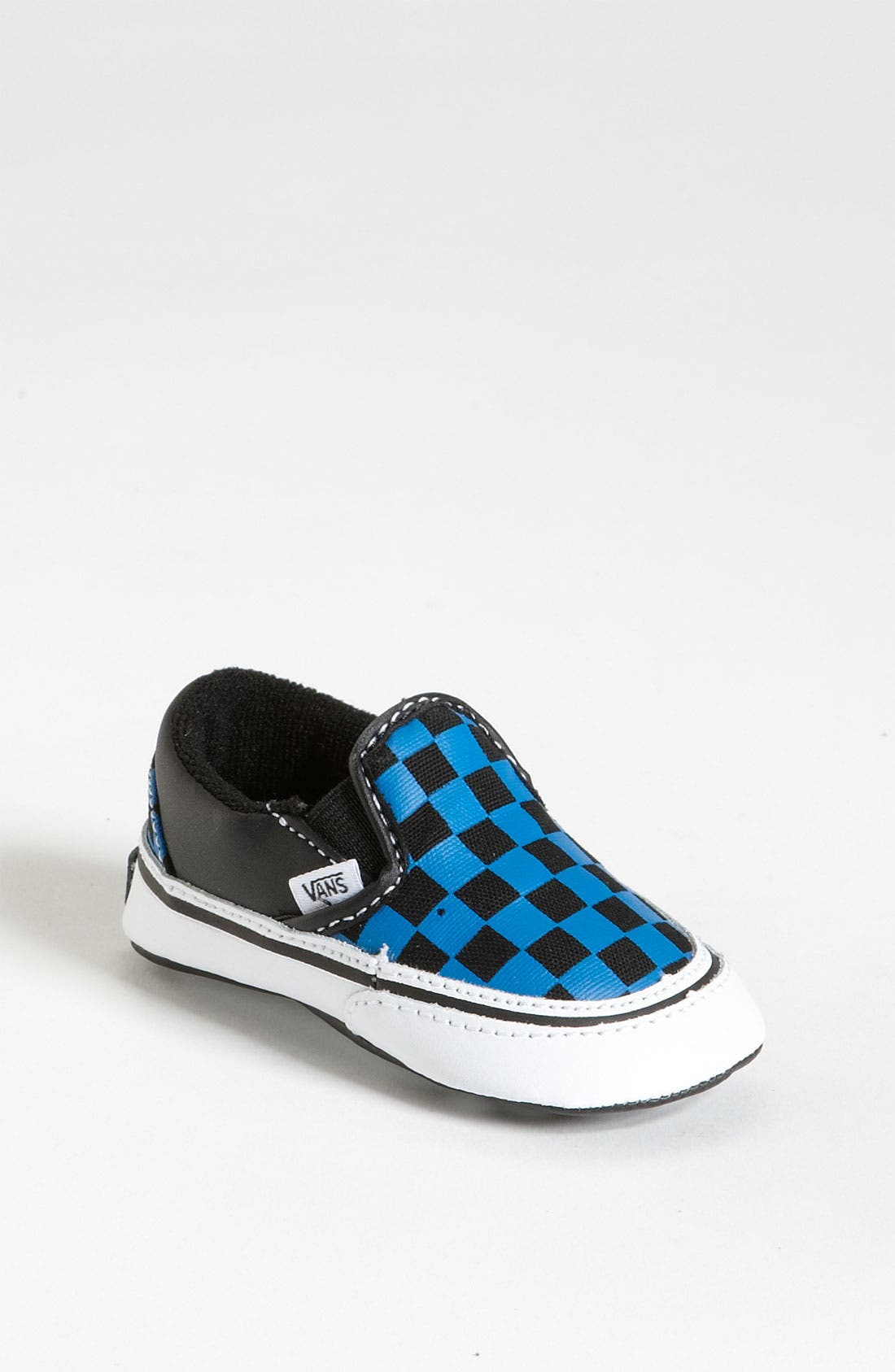 Alternate Image 1 Selected - Vans 'Classic - Checker' Slip-On Sneaker (Baby)