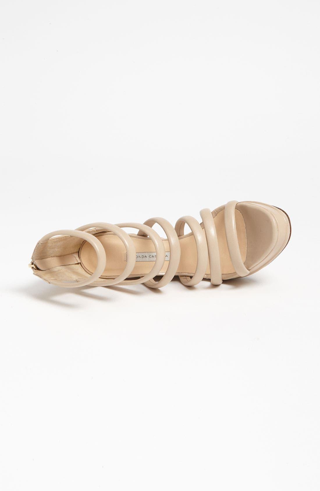 Alternate Image 3  - Bionda Castana Zip Sandal