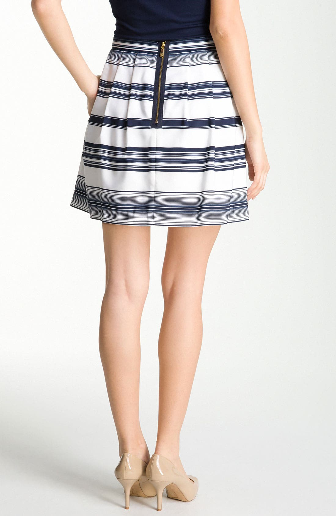 Alternate Image 2  - Vince Camuto 'Caribbean Stripe' Skirt (Petite)