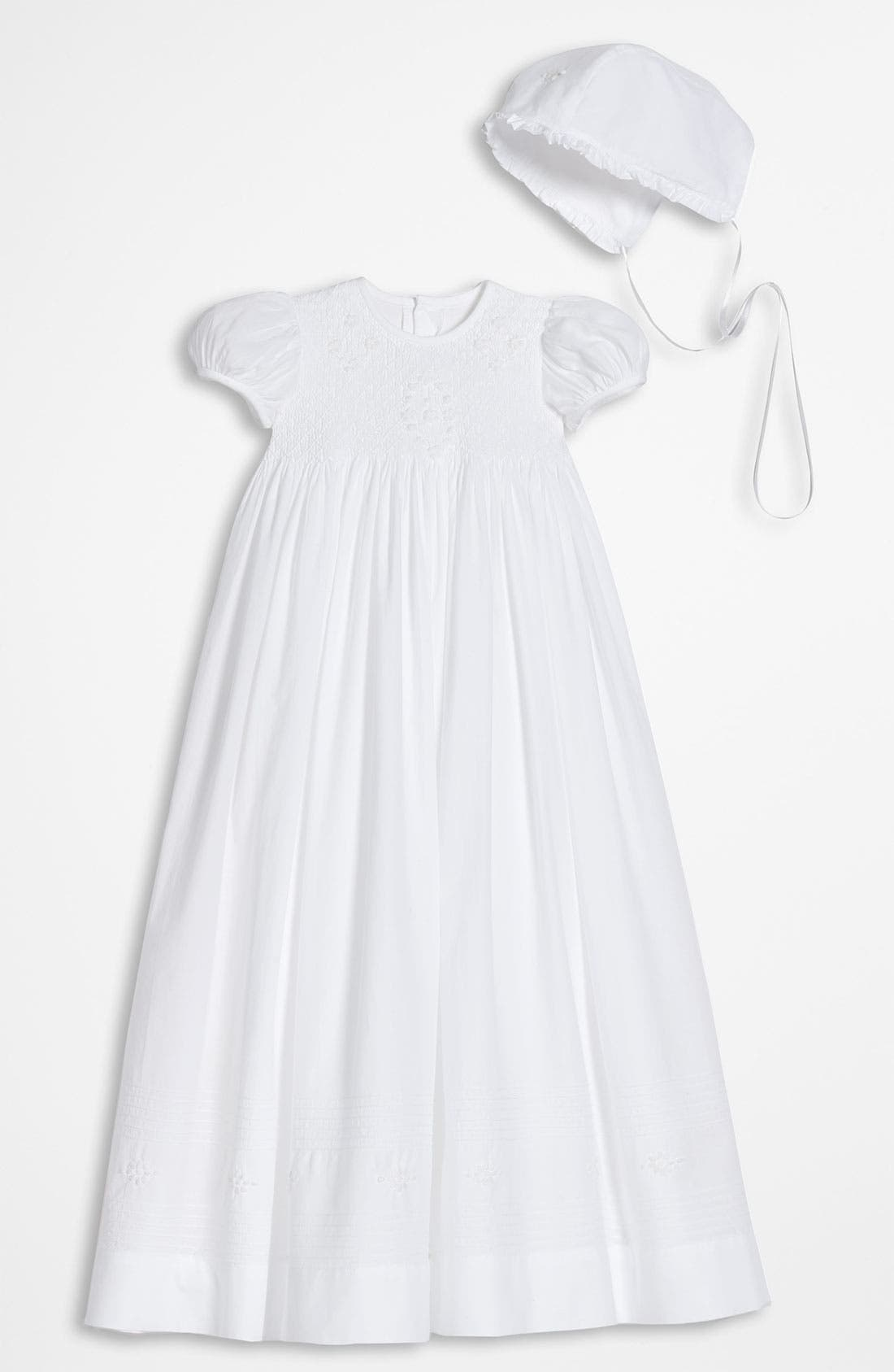 Alternate Image 1 Selected - Little Things Mean a Lot Gown (Infant)