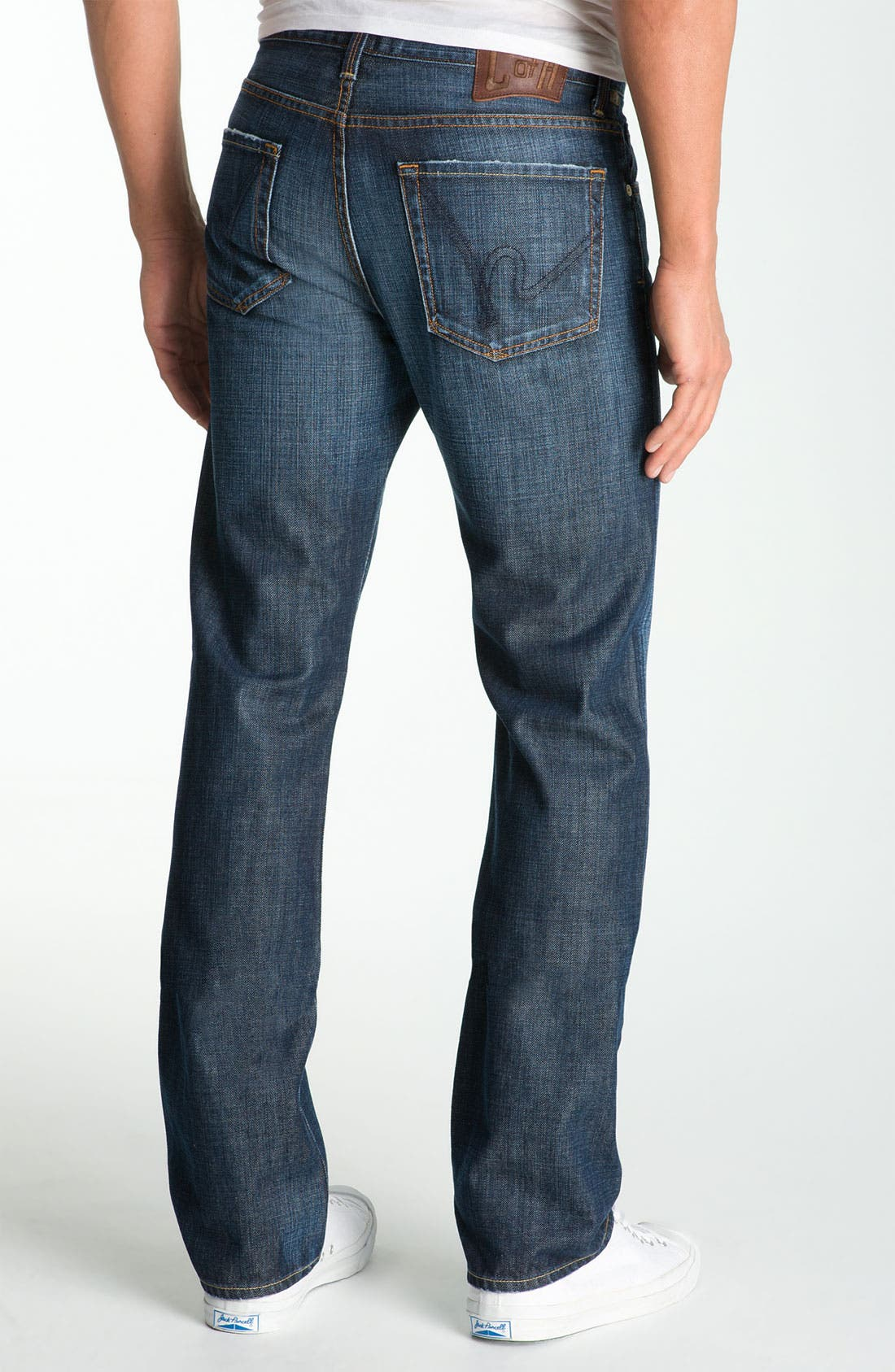Alternate Image 2  - Citizens of Humanity 'Sid' Straight Leg Jeans (Pacific Ocean) (Tall)
