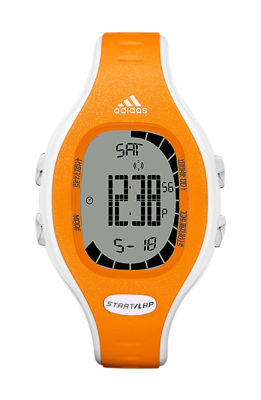 Alternate Image 1 Selected - adidas Performance 'Naloa' Digital Watch