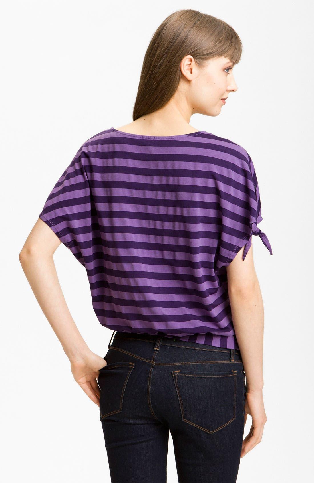 Alternate Image 2  - Ella Moss 'Waldo' Stripe Blouson Top