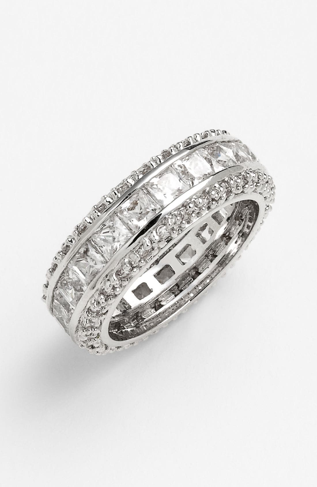 Main Image - Ariella Collection Channel Set Eternity Band Ring