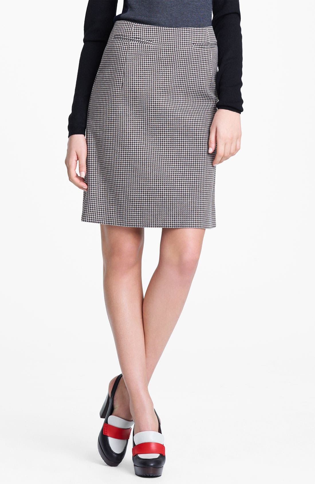 Alternate Image 5  - Marni Edition Houndstooth Pencil Skirt