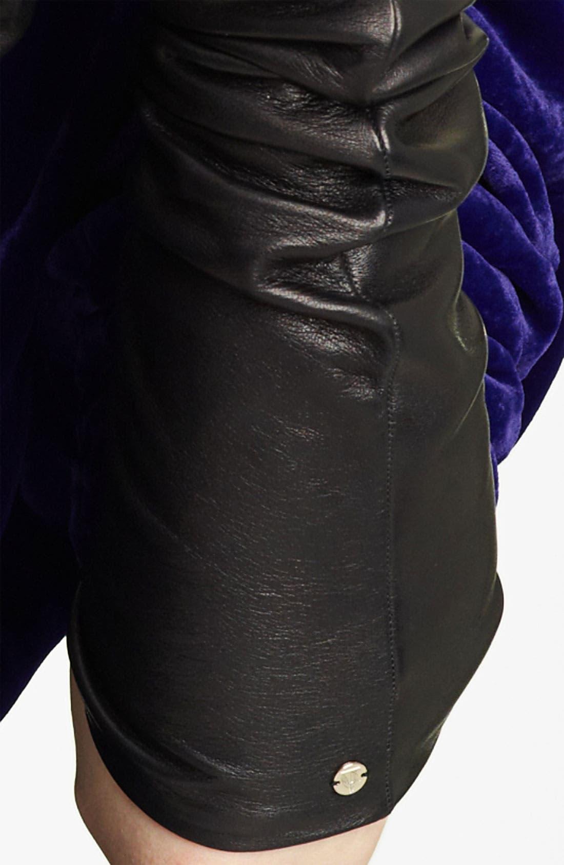Alternate Image 2  - Lanvin Long Lambskin Leather Gloves