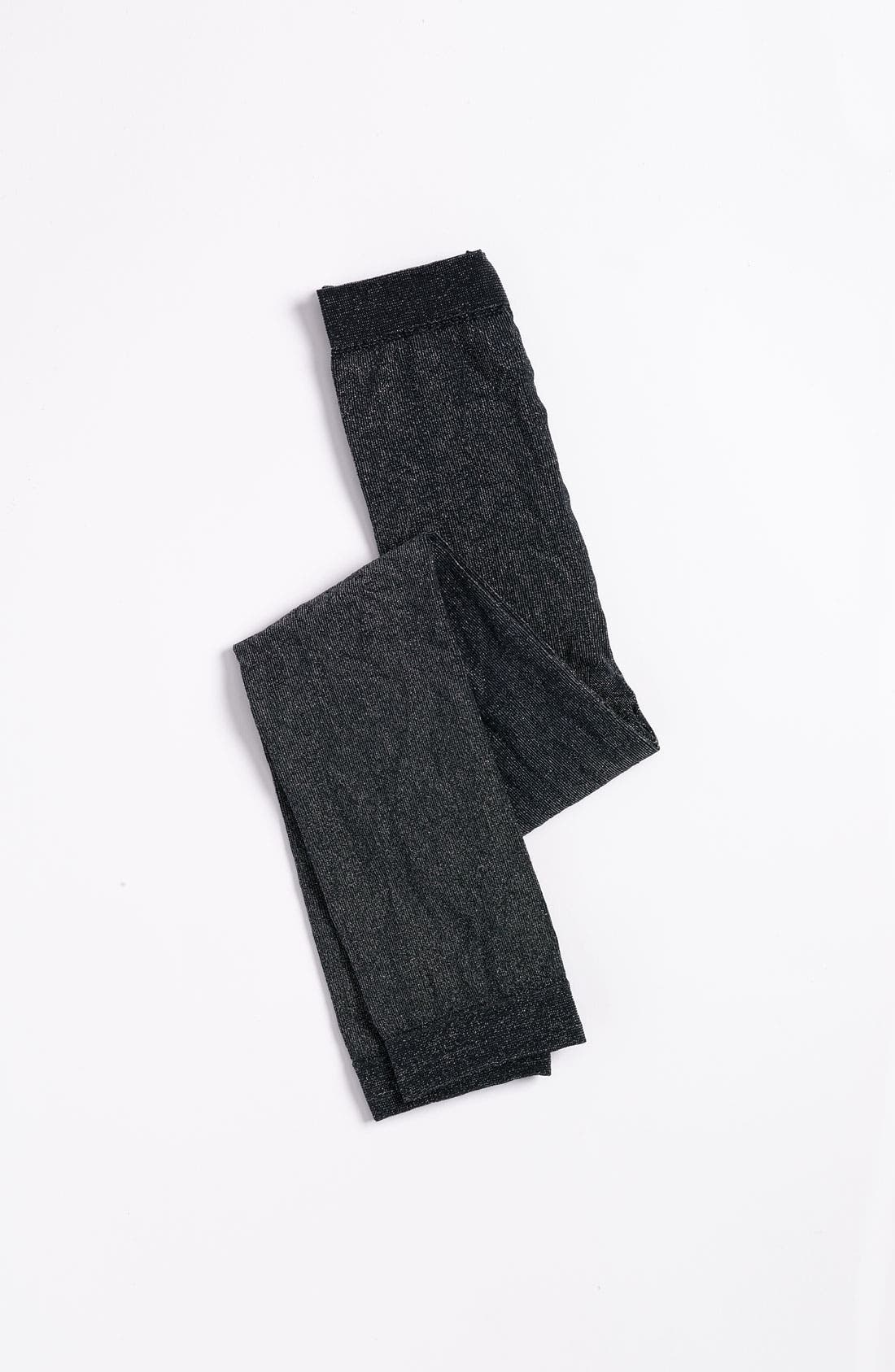 Alternate Image 1 Selected - Nordstrom 'You Shine' Footless Tights (Toddler & Little Girls)