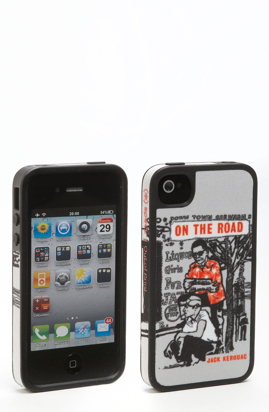 Main Image - Out of Print 'On the Road' iPhone 4 & 4S Case