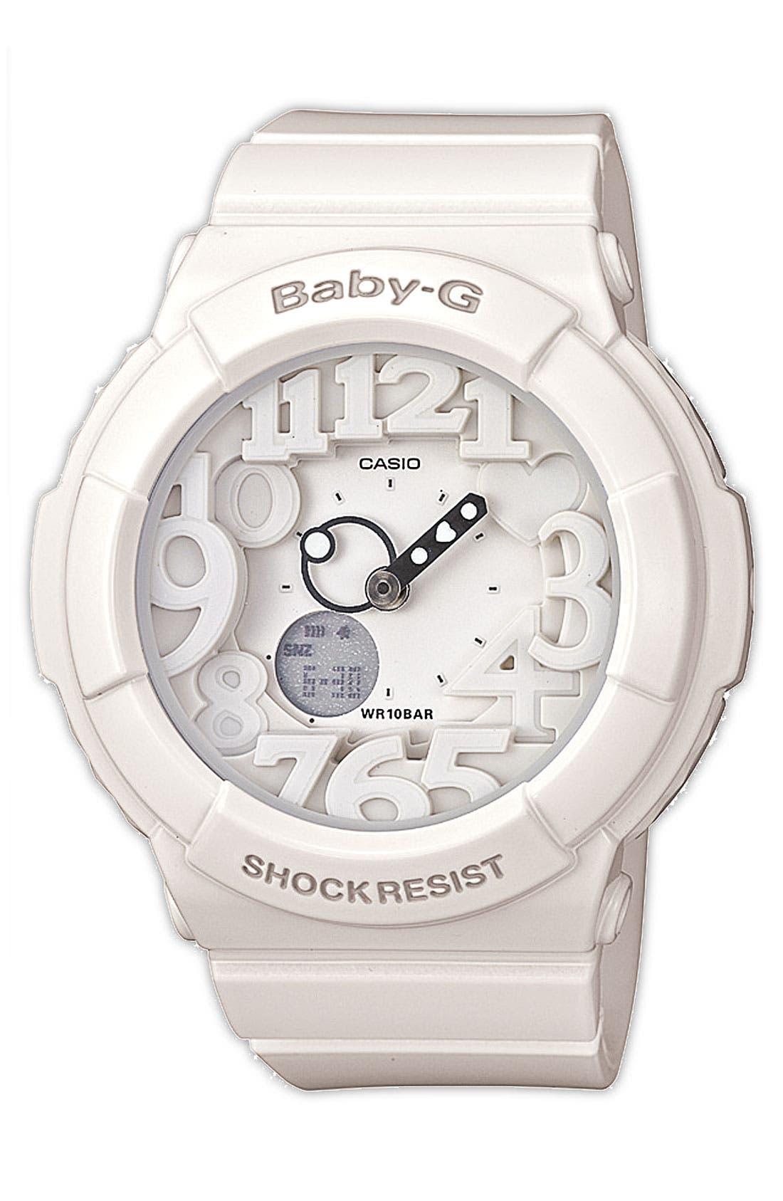 Alternate Image 1 Selected - Baby-G Dual Movement Watch