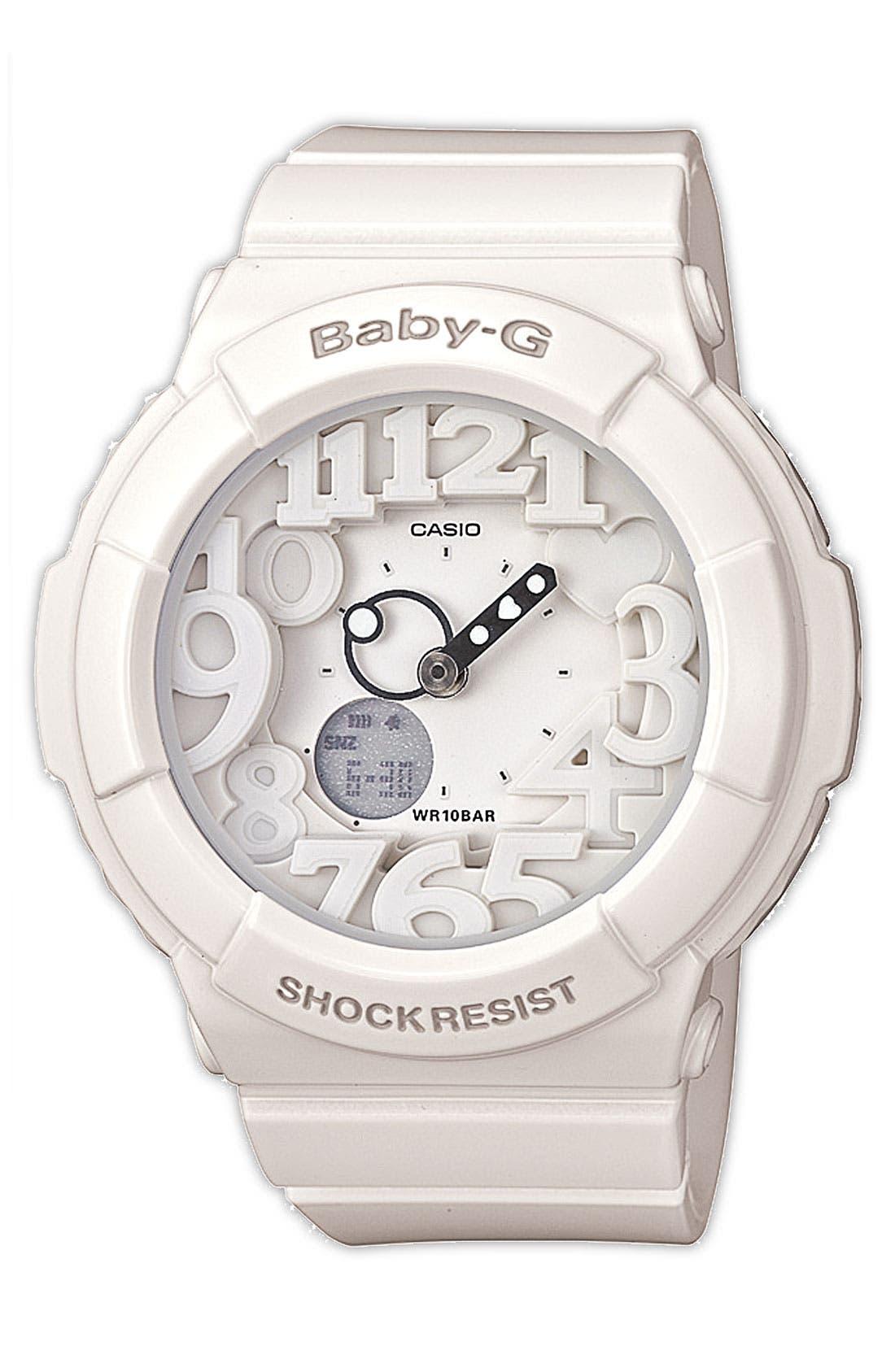 Main Image - Baby-G Dual Movement Watch