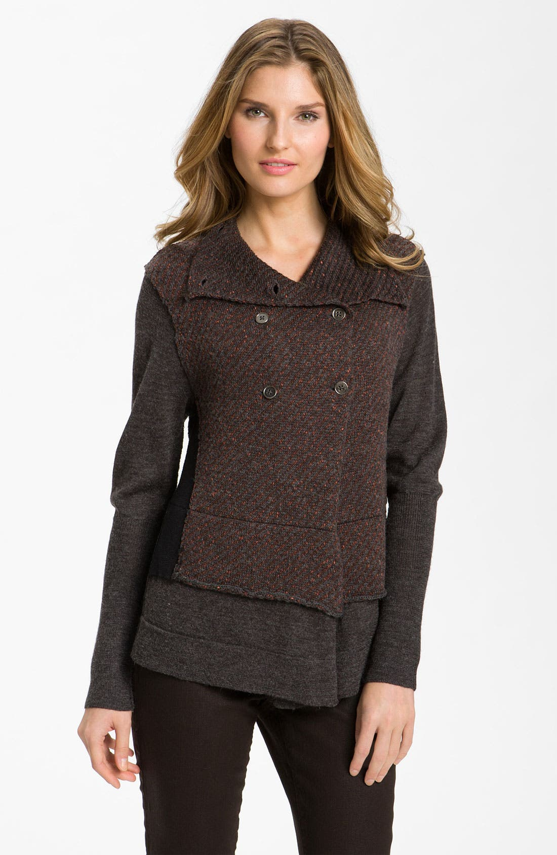 Main Image - Curio Double Breasted Cardigan