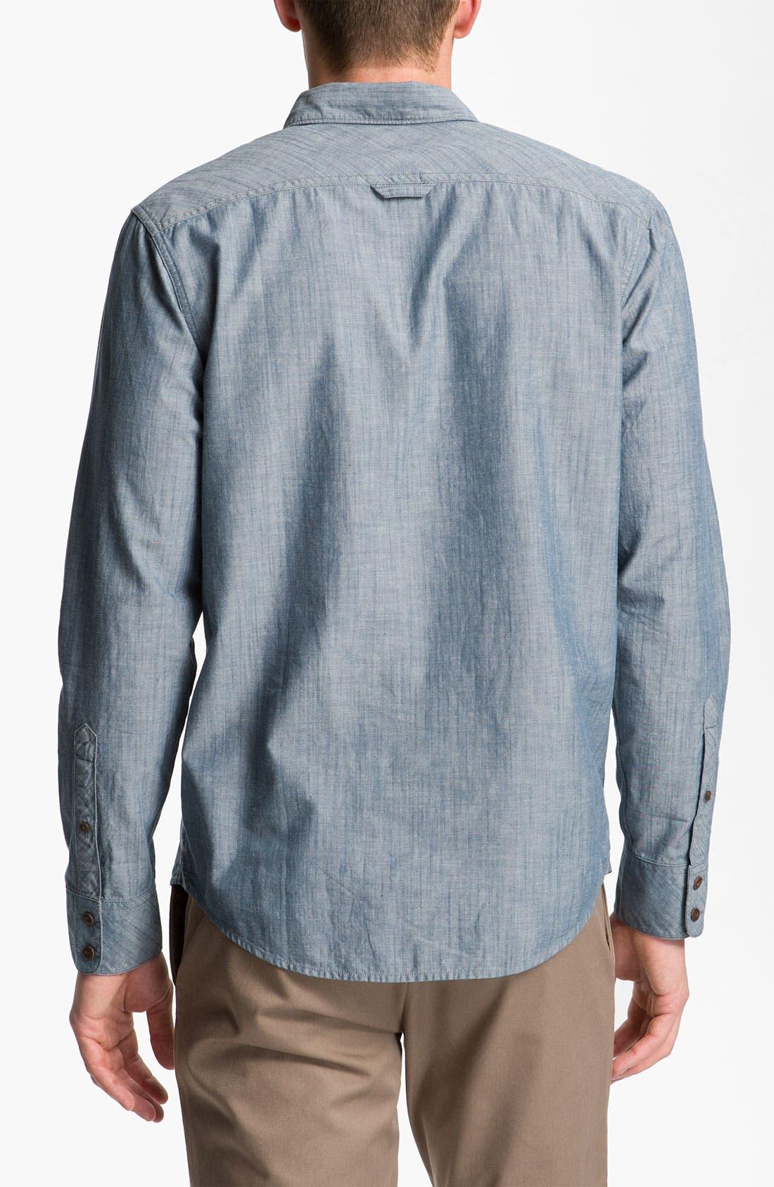 Alternate Image 2  - 1901 Slub Chambray Shirt