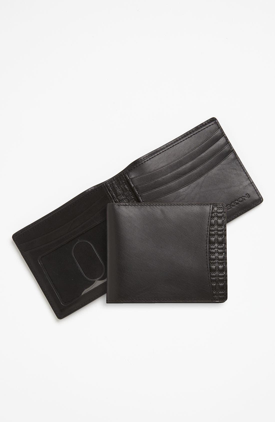 Main Image - Boconi 'Xavier Vintage' Slimfold Wallet