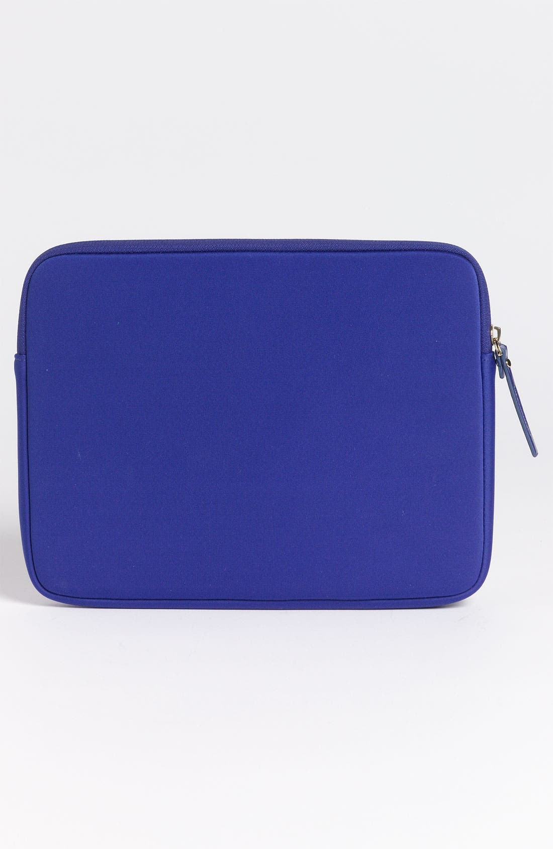 'whistle while you work' iPad sleeve,                             Alternate thumbnail 4, color,                             Cobalt