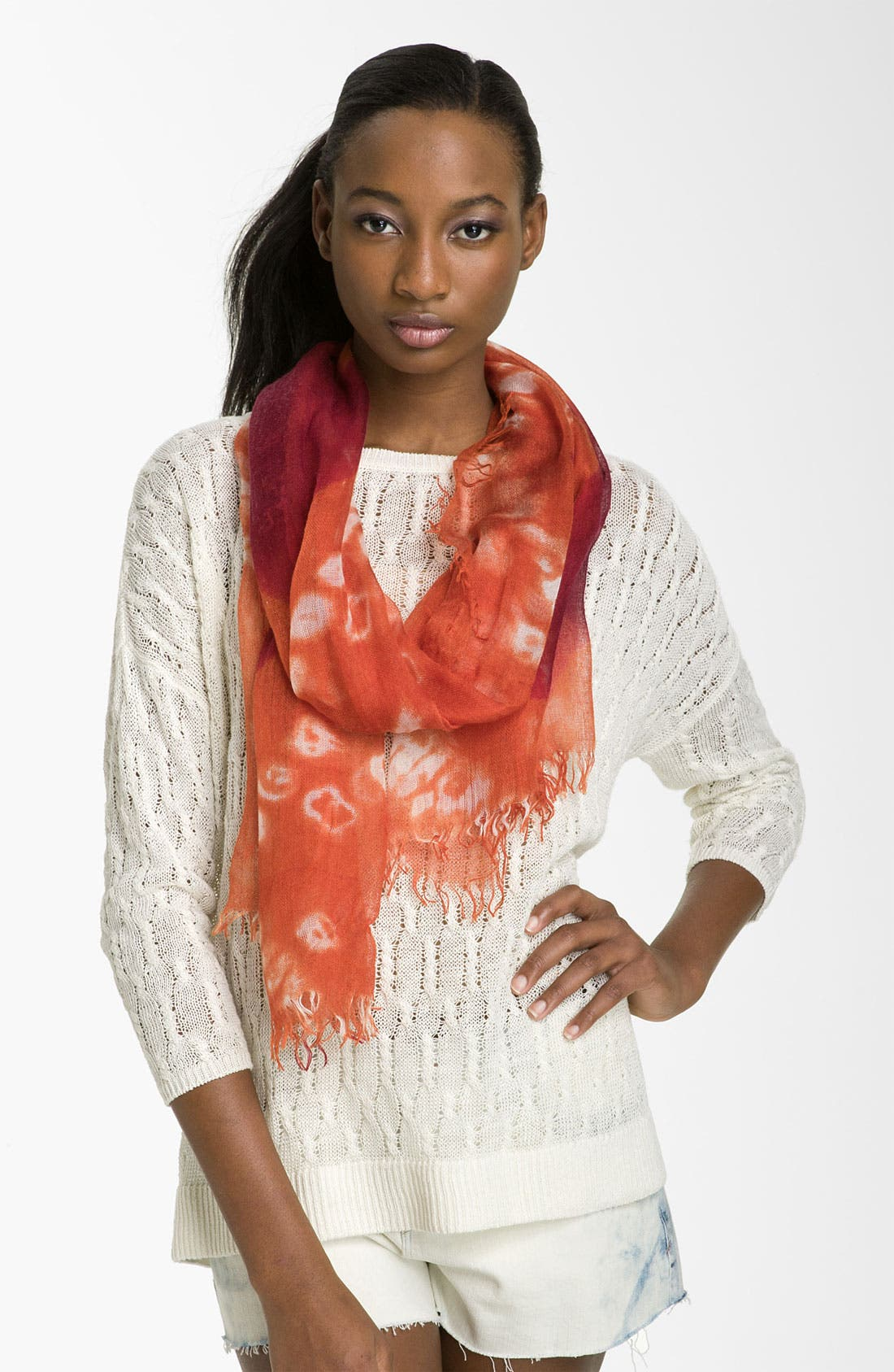 Main Image - Jessica Simpson Tie Dye Wrap