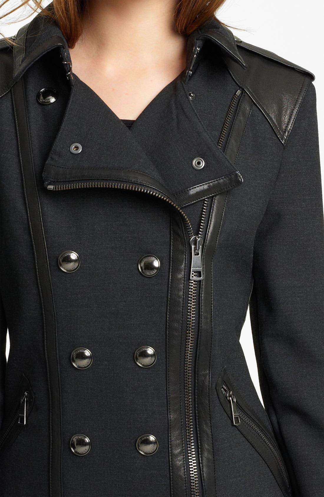 Alternate Image 3  - Burberry London Asymmetrical Jacket