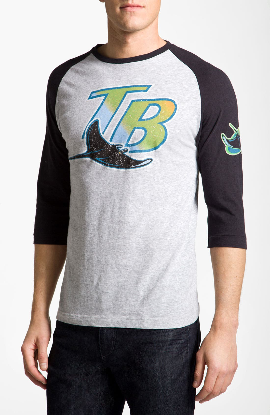 Alternate Image 1 Selected - Wright & Ditson 'Tampa Bay Rays' Baseball T-Shirt