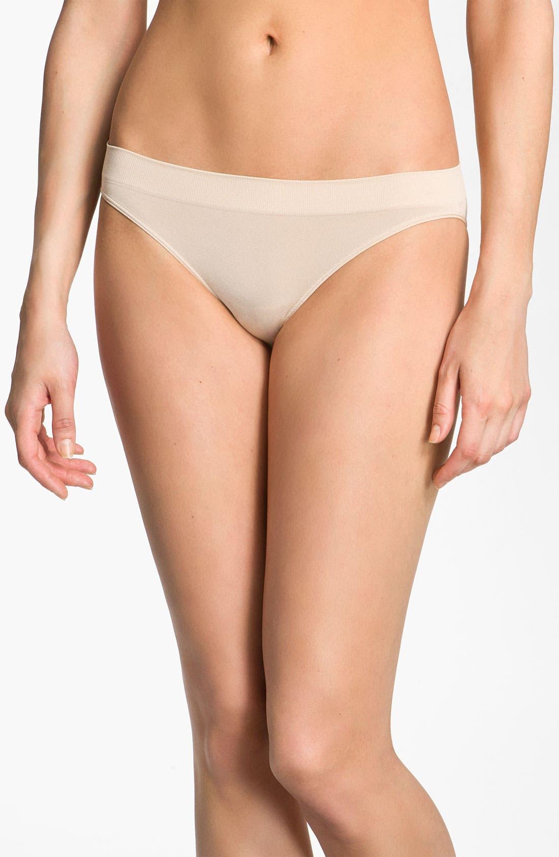 'B Smooth' Bikini,                         Main,                         color, Natural Nude
