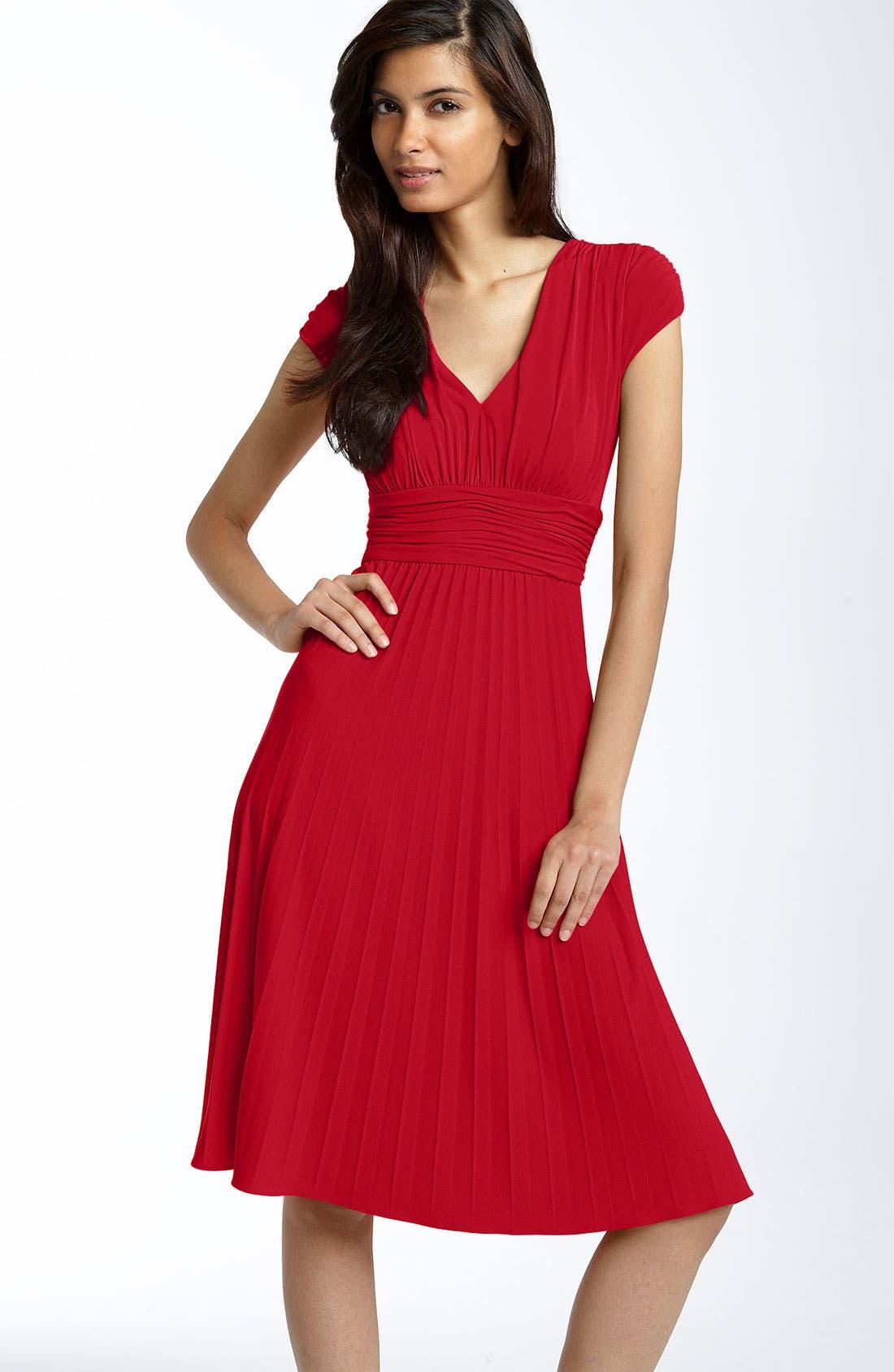 Alternate Image 1 Selected - Ivy & Blu Ruched Matte Jersey Dress