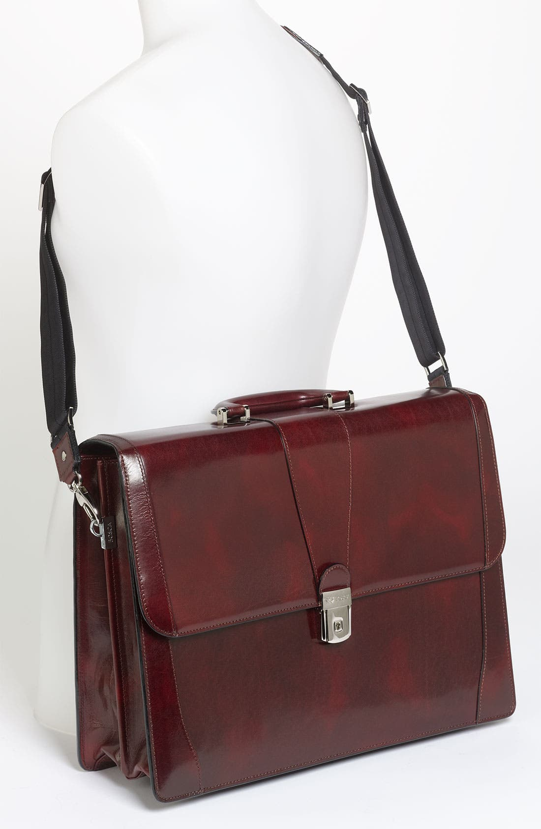 Alternate Image 2  - Bosca Double Gusset Briefcase