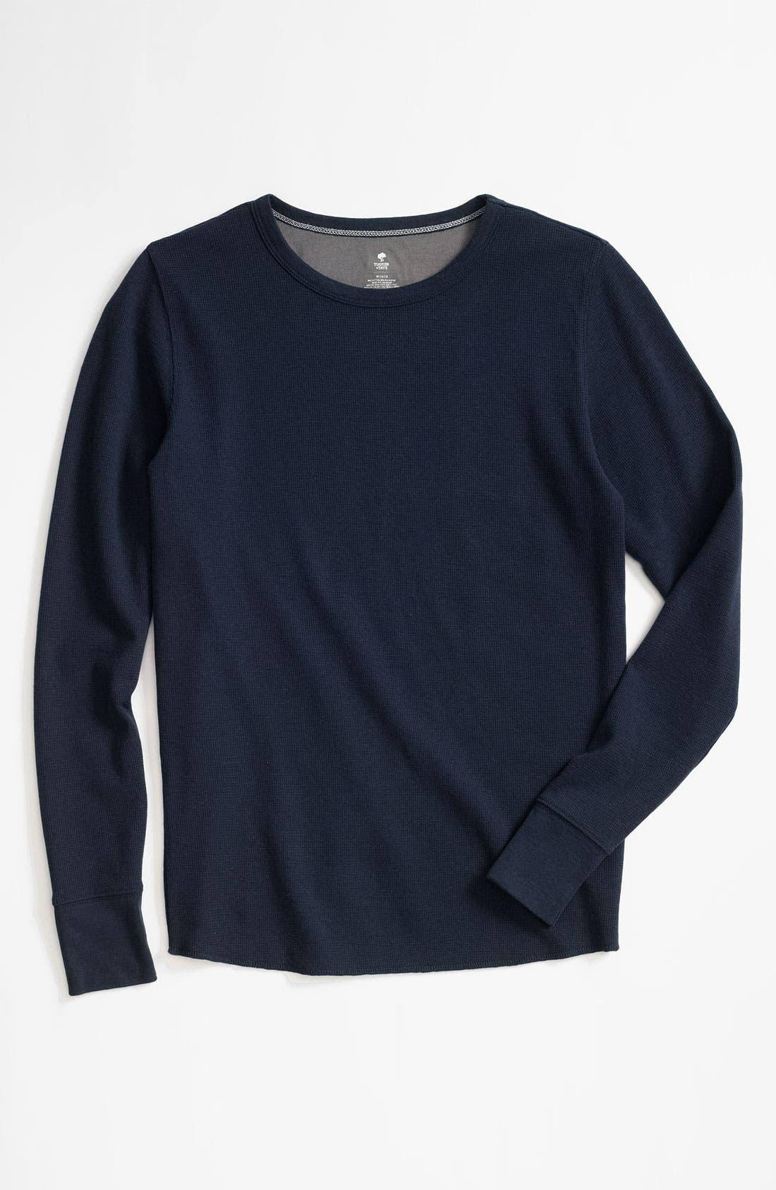Alternate Image 1 Selected - Tucker + Tate 'Wheeler' Thermal T-Shirt (Little Boys)