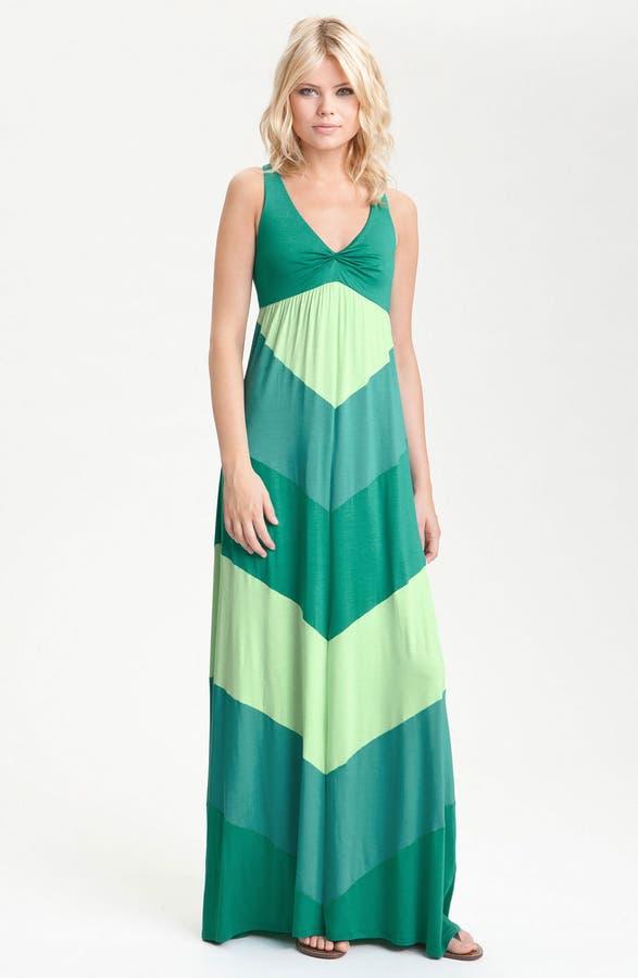 Ella Moss 'Celia' Racerback Colorblock Maxi Dress | Nordstrom