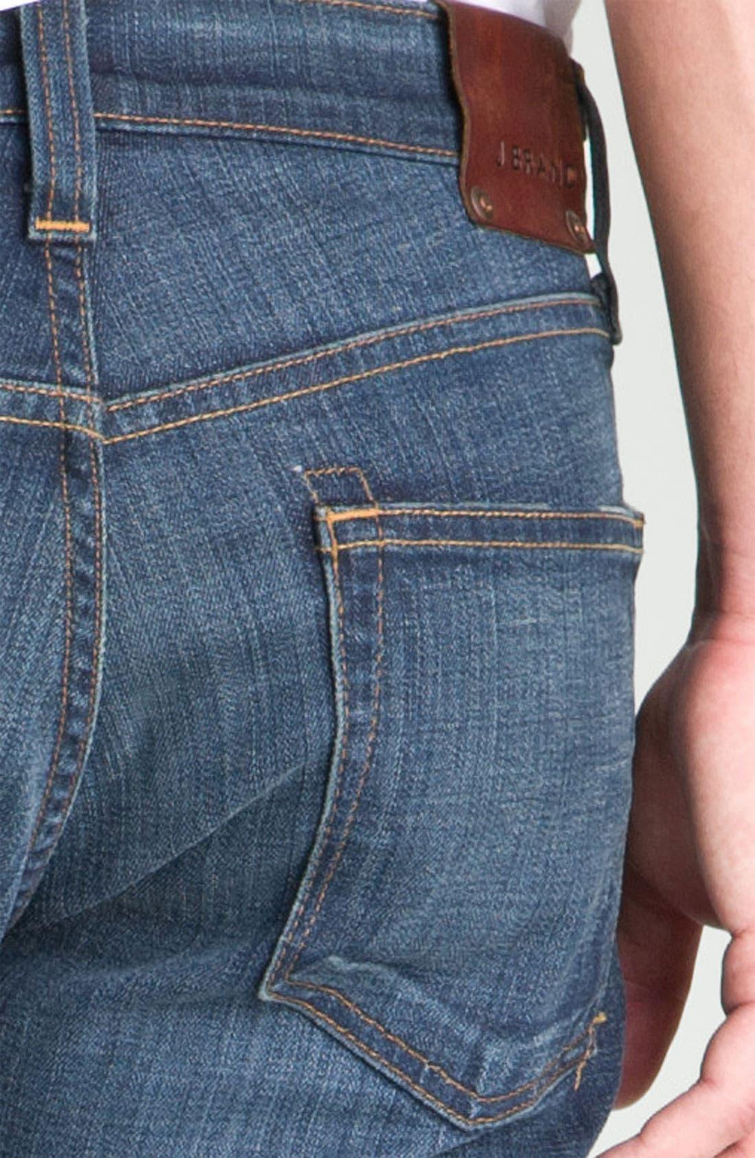 Alternate Image 5  - J Brand 'Kane' Slim Straight Leg Jeans (Javelin)