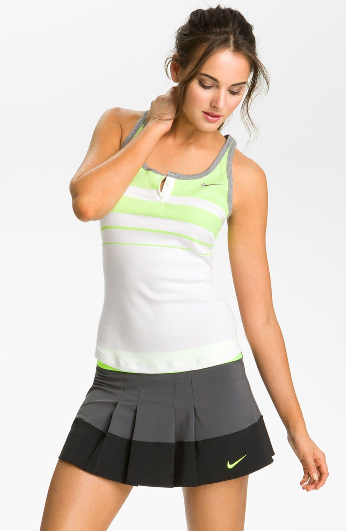 Alternate Image 1 Selected - Nike Dri-FIT Racerback Tennis Tank