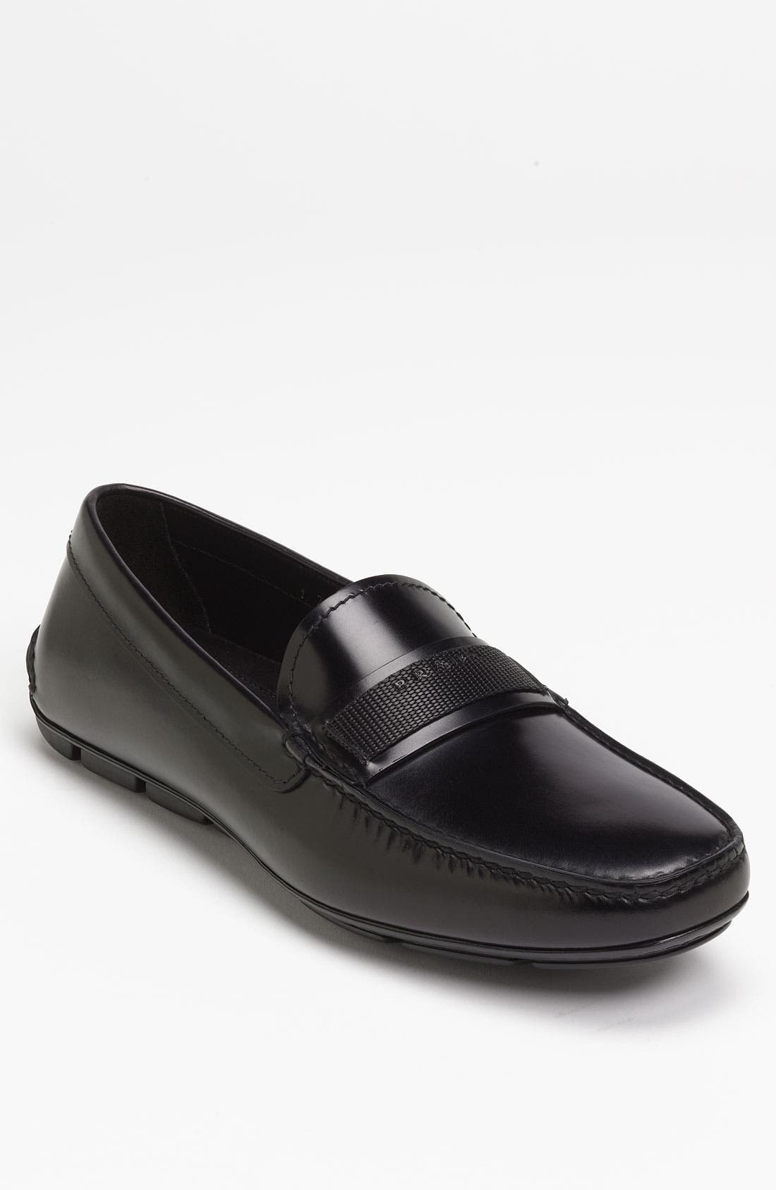 Alternate Image 1 Selected - Prada Driving Moccasin