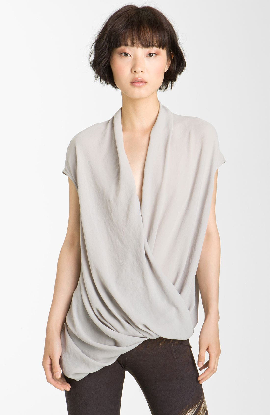 Alternate Image 1 Selected - Helmut Lang 'Soft Shroud' Twist Top