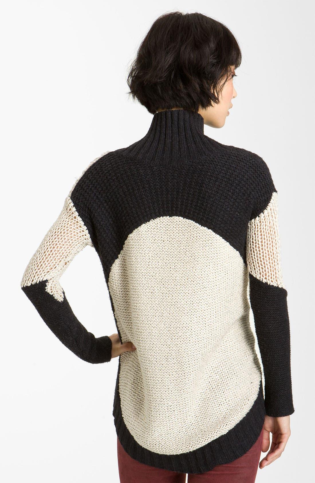 Alternate Image 2  - Helmut Lang Melangé Knit Turtleneck Sweater